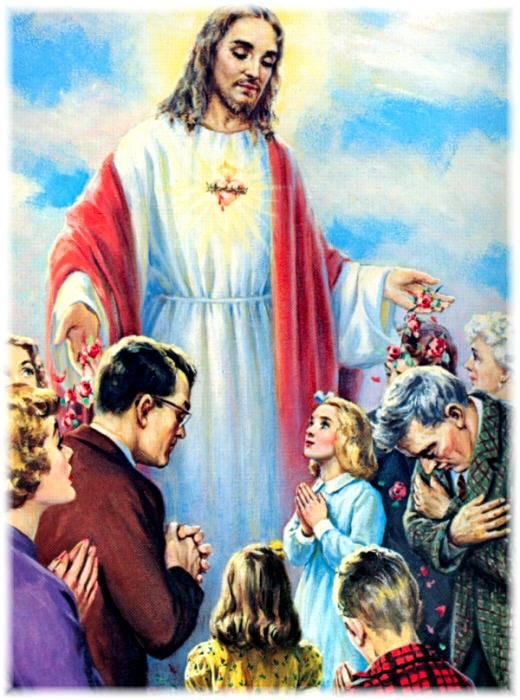 1. Dat ću im sve milosti koje su im potrebne u njihovu staležu.