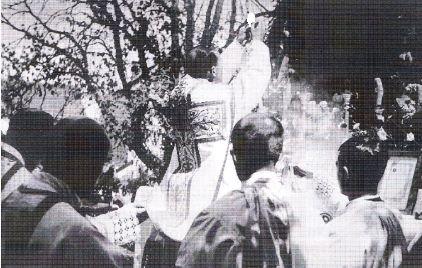 Sv. Misa na otvorenom povodom jednog od brojnih euharistijskih kongresa u Zagrebačkoj nadbiskupiji