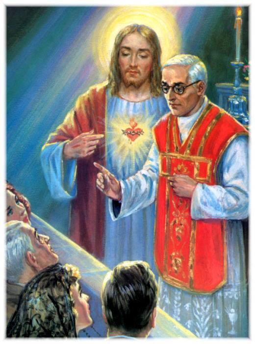 10. Svećenicima ću dati dar da taknu i najtvrdokornija srca.