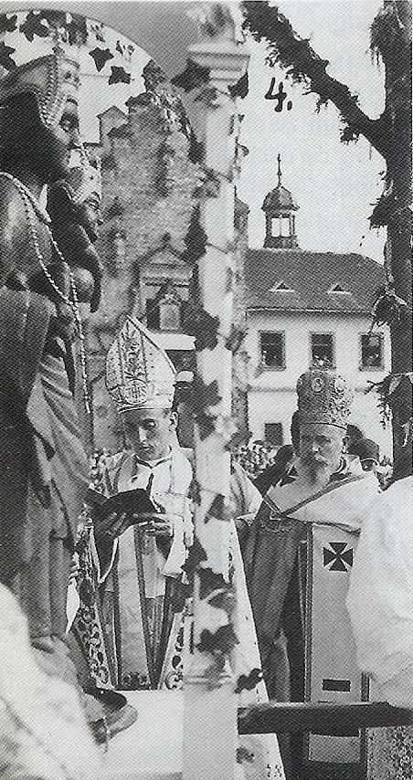 Posveta Zagrebačke nadbiskupije Majci Božjoj Bistričkoj, 1935. god.