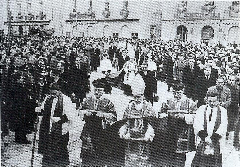 Pronošenje moći sv. Vlaha u Dubrovniku, 3. veljače 1941.