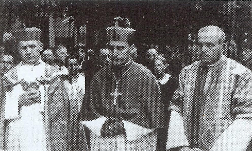 Nadbiskup u zagrebačkom Podsusedu.