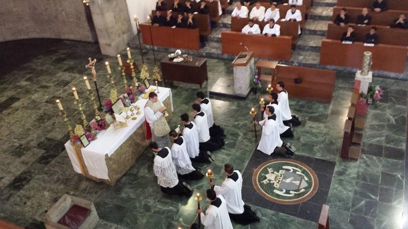 Nedavno su svećenici Bratstva sv. Petra, na poziv samih sjemeništaraca slavili tradicionalnu Misu u Guadalajari, najvećem biskupijskom sjemeništu na svijetu . Misi je nazočilo preko 300 sjemeništaraca.