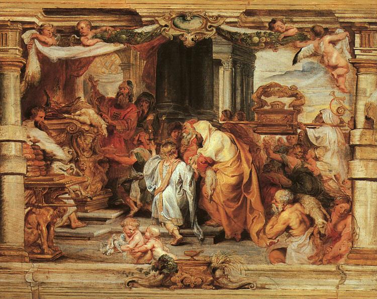Žrtva Starog zavjeta - Peter Paul Rubens (cca. 1626.)