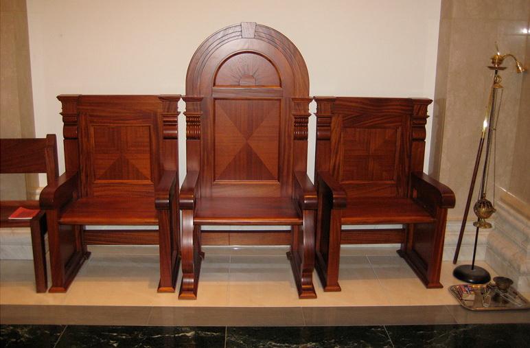 """Svećenički stolac, ili """"sedilia"""""""