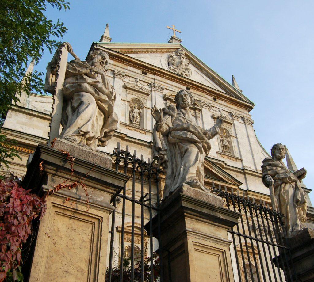 Crkva sv. Petra i Pavla u Krakovu.